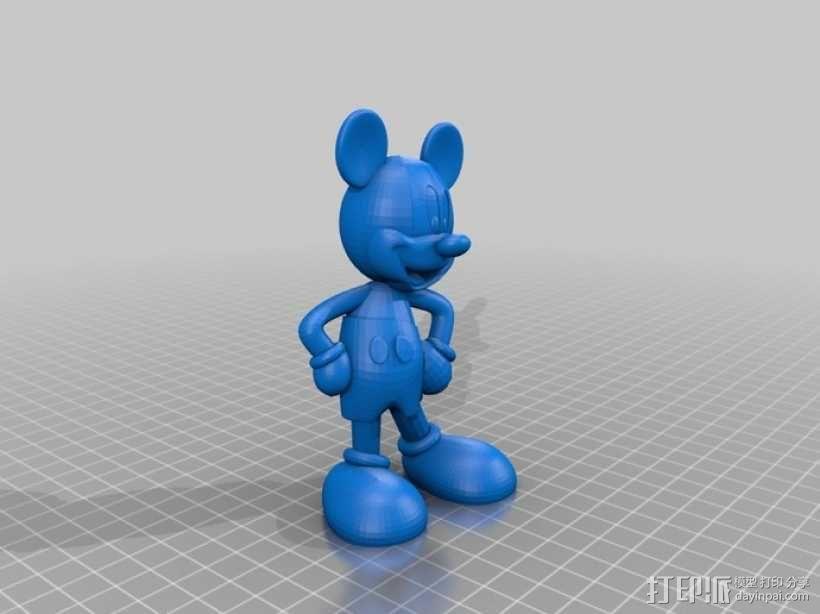 米奇 米老鼠 3D模型  图2