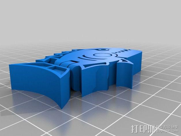食人鱼  3D模型  图2