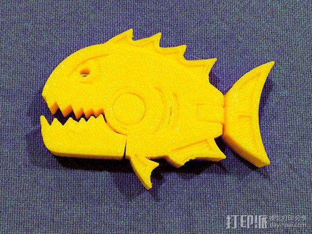 食人鱼  3D模型  图3