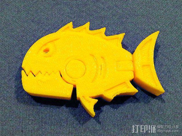 食人鱼  3D模型  图4