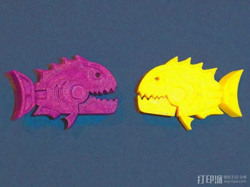 食人鱼  3D模型  图5