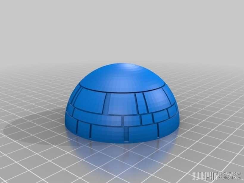 《星球大战》死亡星球 3D模型  图5