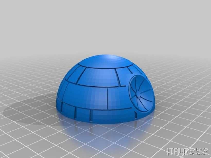 《星球大战》死亡星球 3D模型  图4