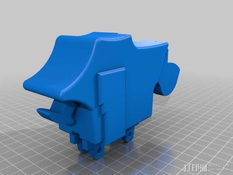 动漫《进击的巨人》操纵装置 3D模型  图3