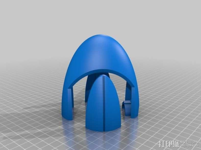 传送门2 炮塔 3D模型  图11