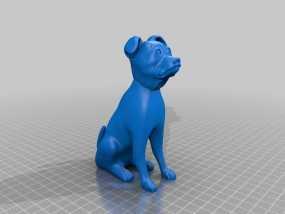 斯塔福狗 3D模型