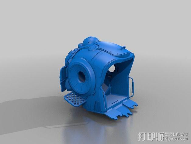 《泰坦陨落(Titanfall)》  Atlas装甲机器人 3D模型  图2