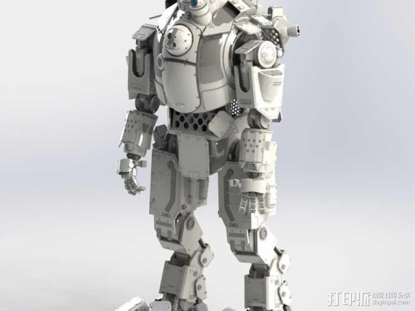 《泰坦陨落(Titanfall)》  Atlas装甲机器人 3D模型  图3