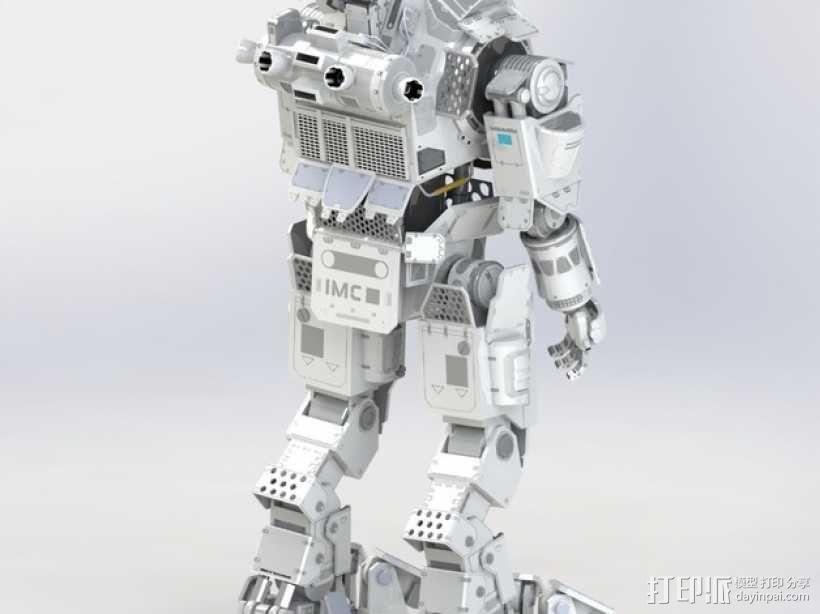 《泰坦陨落(Titanfall)》  Atlas装甲机器人 3D模型  图4