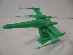 《星球大战 》X翼战机  3D模型