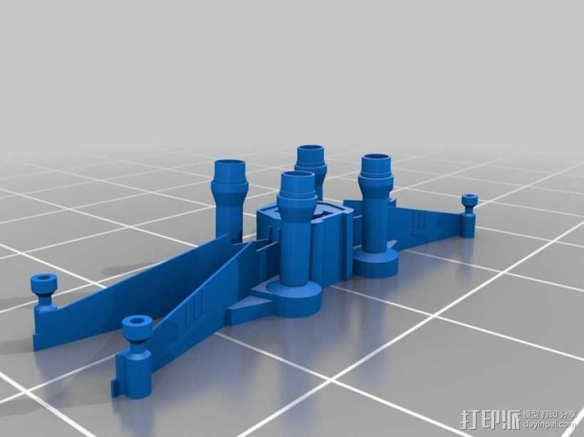 《星球大战 》X翼战机  3D模型  图4