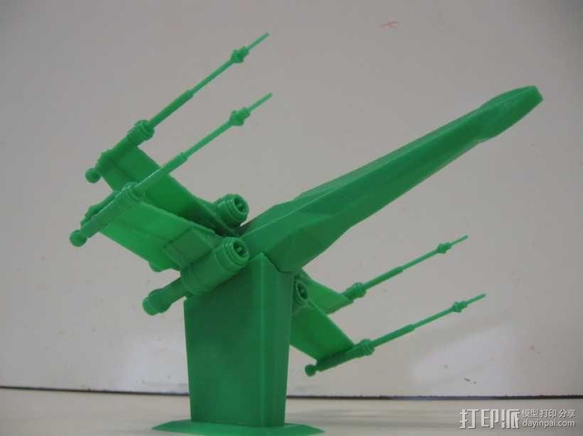 《星球大战 》X翼战机  3D模型  图6