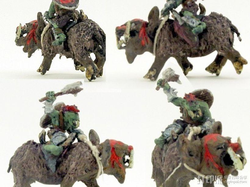 魔兽骑兵 3D模型  图1