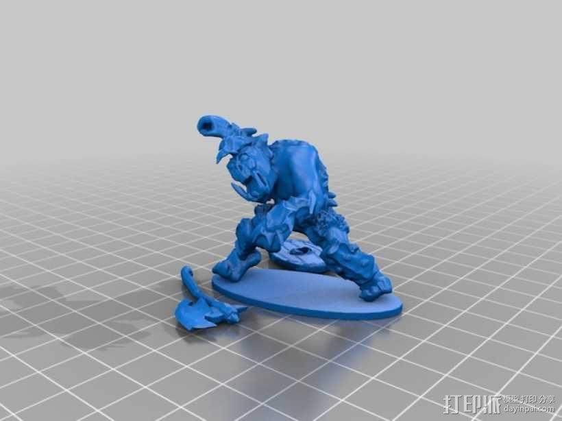 魔兽骑兵 3D模型  图2