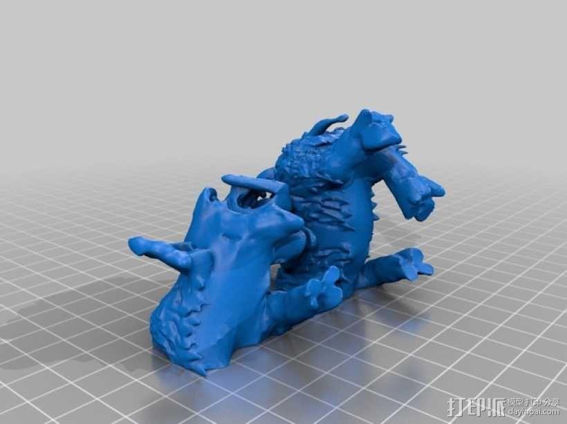 魔兽骑兵 3D模型  图3