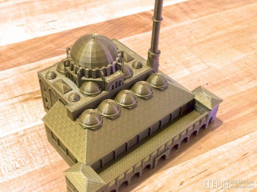 吕斯泰姆帕夏清真寺 3D模型  图1