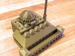 吕斯泰姆帕夏清真寺 3D模型