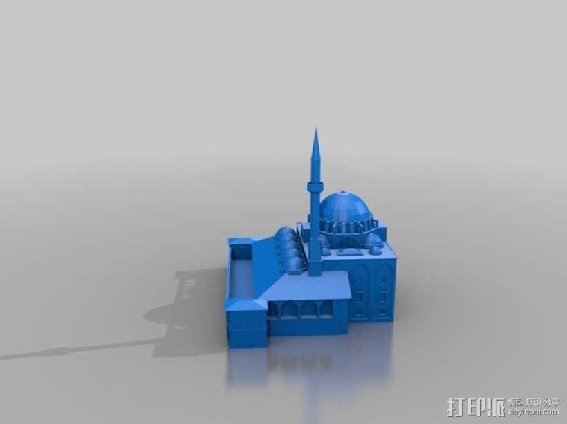吕斯泰姆帕夏清真寺 3D模型  图2