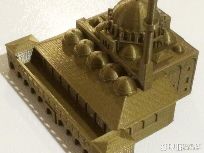 吕斯泰姆帕夏清真寺 3D模型  图3
