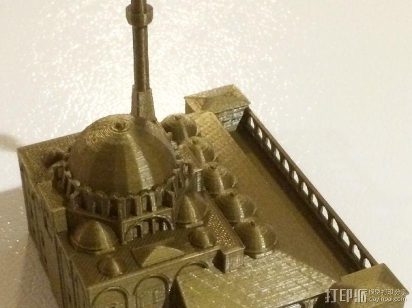 吕斯泰姆帕夏清真寺 3D模型  图4
