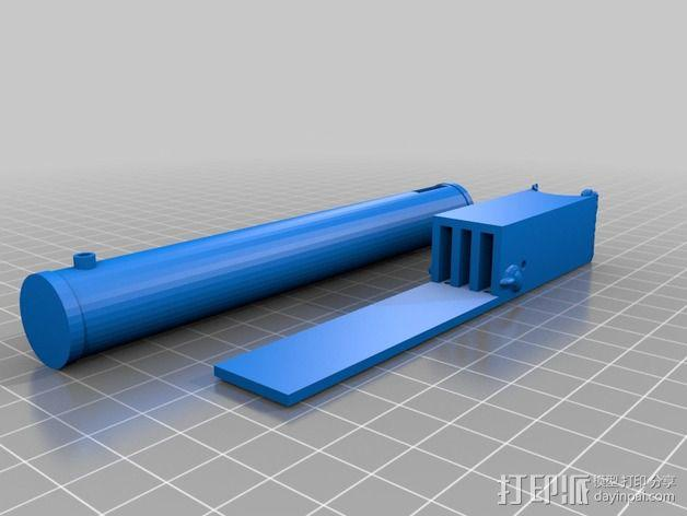 电影《捉鬼敢死队》鬼魂捕捉器  3D模型  图3