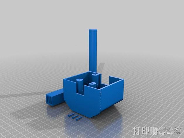 电影《捉鬼敢死队》鬼魂捕捉器  3D模型  图2