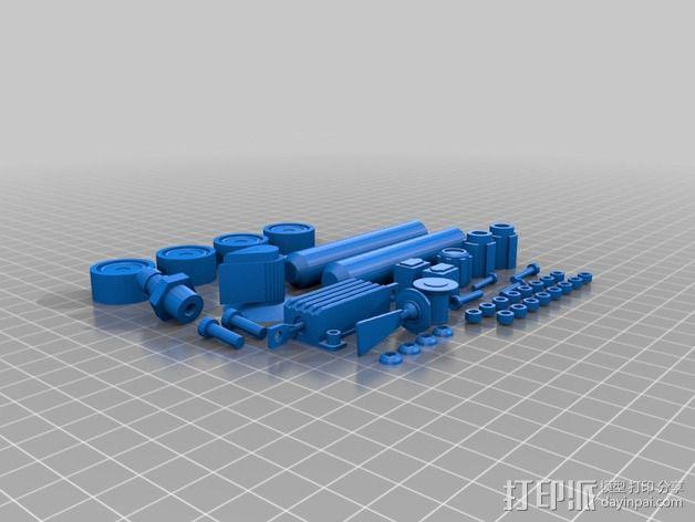 电影《捉鬼敢死队》鬼魂捕捉器  3D模型  图20
