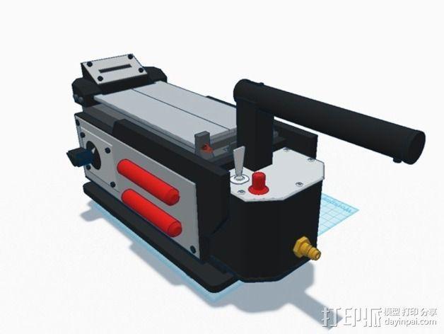 电影《捉鬼敢死队》鬼魂捕捉器  3D模型  图34