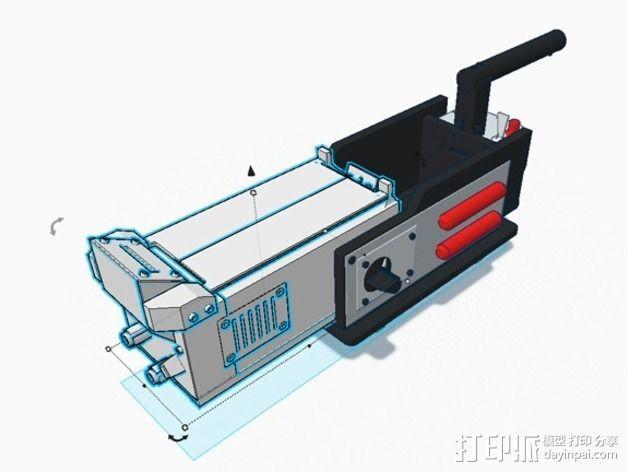 电影《捉鬼敢死队》鬼魂捕捉器  3D模型  图33
