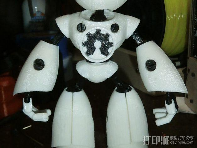 Mark II 机器人 3D模型  图2