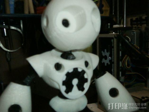 Mark II 机器人 3D模型  图7