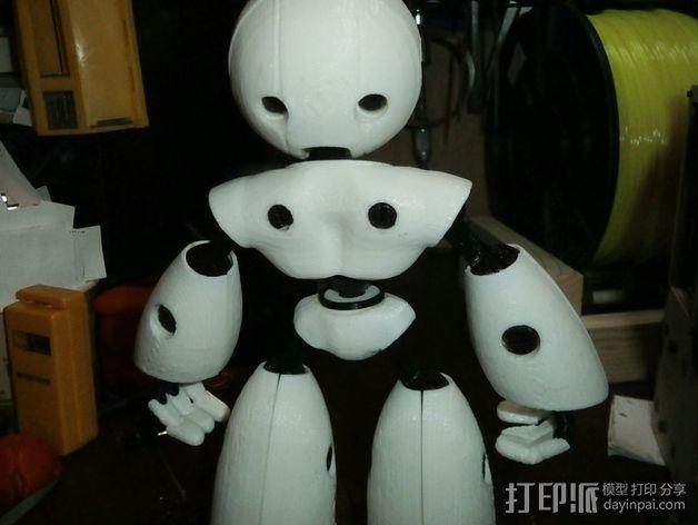 Mark II 机器人 3D模型  图9