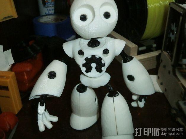Mark II 机器人 3D模型  图15