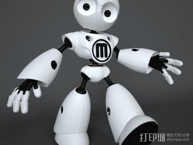 Mark II 机器人 3D模型  图16