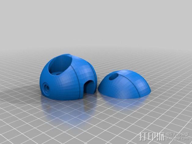 Mark II 机器人 3D模型  图48