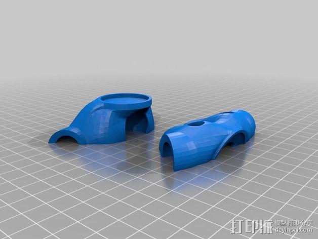 Mark II 机器人 3D模型  图50