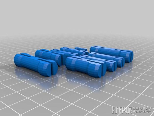 Mark II 机器人 3D模型  图56