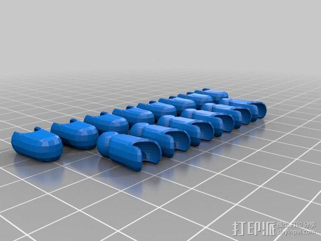 Mark II 机器人 3D模型  图59