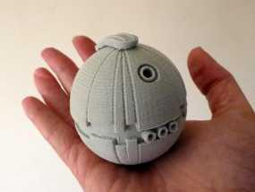 圣诞树装饰品:迷你热能炸弹 3D模型