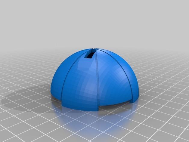 圣诞树装饰品:迷你热能炸弹 3D模型  图2