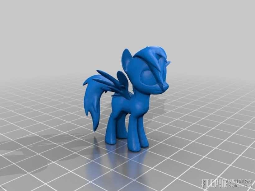 我的小马驹 玩具 3D模型  图3