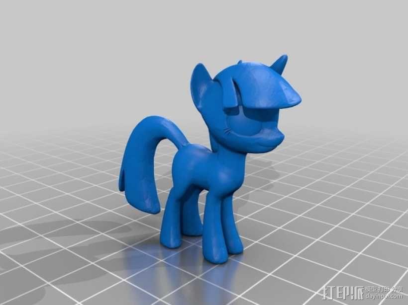 我的小马驹 玩具 3D模型  图4