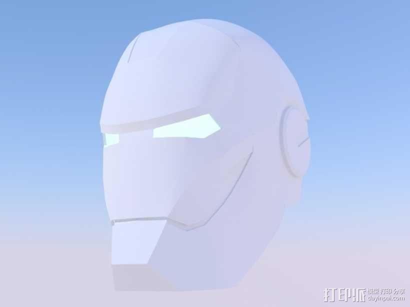 钢铁侠 头盔 3D模型  图3
