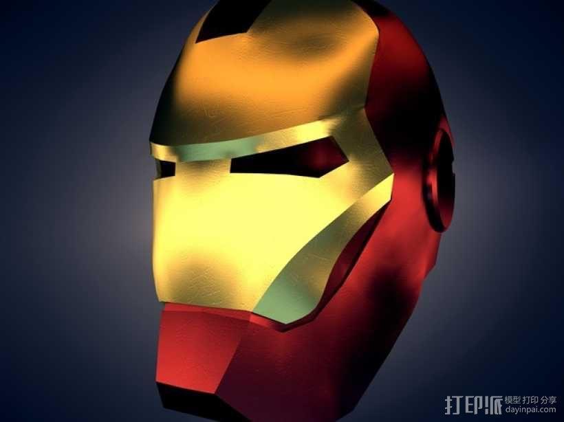 钢铁侠 头盔 3D模型  图1
