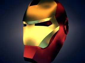 钢铁侠 头盔 3D模型