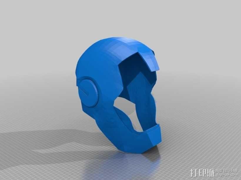 钢铁侠 头盔 3D模型  图11