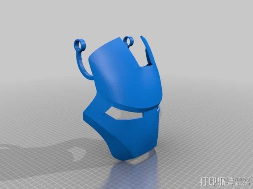 钢铁侠 头盔 3D模型  图12