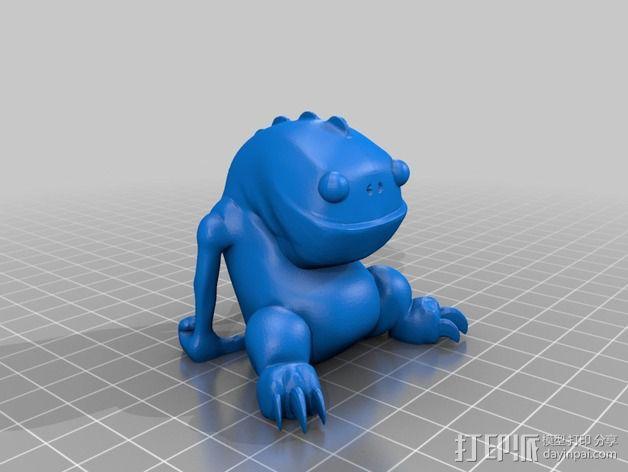 Blinky 玩偶 3D模型  图2