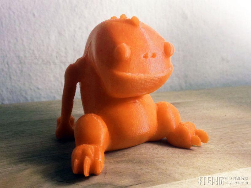 Blinky 玩偶 3D模型  图1