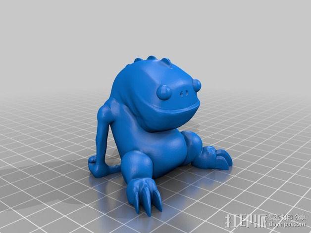 Blinky 玩偶 3D模型  图3